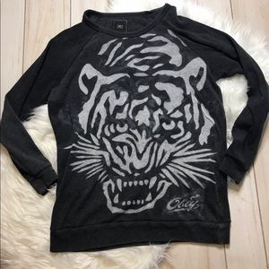 Obey women's tiger sweatshirt